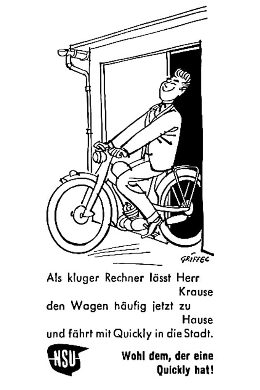 scuderia nsu s ddeutschland e v reklame 1873 1957. Black Bedroom Furniture Sets. Home Design Ideas